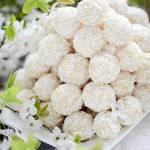 Jaglane pralinki kokosowo-gruszkowe