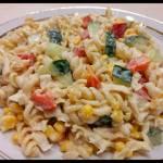 Sałatka warzywno-makaronowa