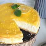 Sernik cytrynowy z lemon curd