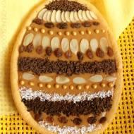 Mazurek kajmakowy - jajko