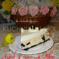 Sernik z ciasteczkami Oreo wg Aleex