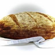 Ulubiony pszenny chleb, z mąką pełnoziarnistą.