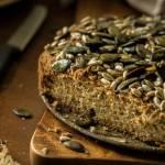 chleb bezglutenowy (bez drożdży i jajek)