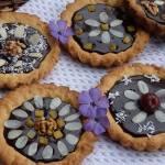 Mini mazurki czekoladowe