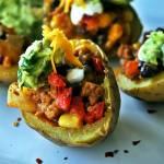 Nadziewane ziemniaczki po meksykańsku