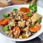 Obiad bez mięsa - gulasz warzywny
