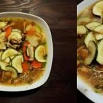 Zupa miso z grzybami shimeji