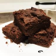 Ekspresowe ciasto czekoladowe, bezglutenowe
