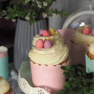 Wielkanocne muffinki z kremem