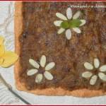 Łatwy mazurek daktylowo-rabarbarowy