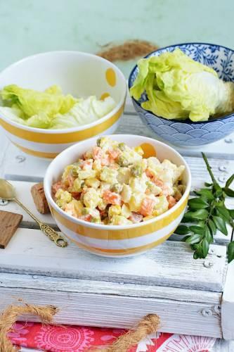 Sałatka ziemniaczana z majonezem