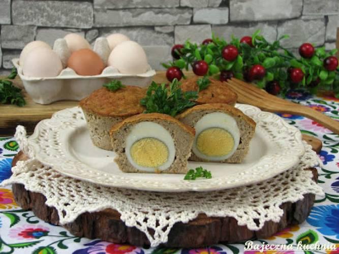 Mini pasztety z jajkiem