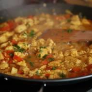 Łatwa i pyszna Paella z kurczakiem i krewetkami