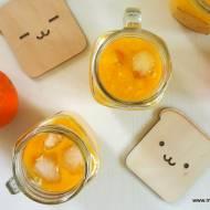 Smoothie pomarańczowo-brzoskwiniowe