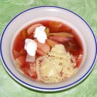 zupa owocowa...