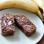 Ciasto bananowe bez mąki, cukru i tłuszczu