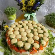 Sałatka grzybowa polana