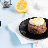 Czekoladowe ciastko na ciepło