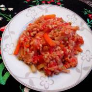 Mieszanka kasz z warzywami