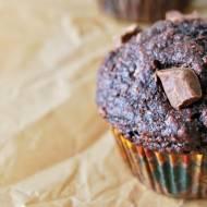 Pełnoziarniste muffinki bananowo-czekoladowe