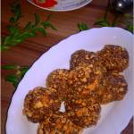 Korzenno czekoladowe kuleczki z karmelowymi orzeszkami