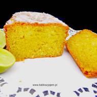 Ciasto limonkowo-kokosowe | Lime and coconut drizzle cake