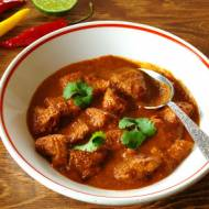 Meksykański gulasz wieprzowy.