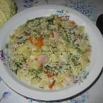 Zupa z kapusty włoskiej