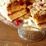Ciasto snickers na herbatnikach (bez pieczenia)