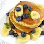 Bananowe pancakes + film