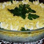 Sałatka tatarska zjajkami