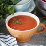 Zupa pomidorowa wg diety dr Dąbrowskiej