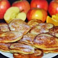 Racuchy z jabłkami z nutą pomarańczy