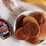 Pancakes z ciecierzycy (bez cukru, glutenu i laktozy)