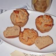 Dietetyczne muffinki orzechowe