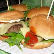 hamburgery domowe...