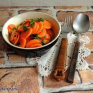 Pikantna surówka z marchewki
