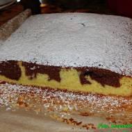 Szybkie i smaczne ciasto Zebra.