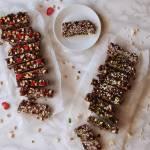 Blok czekoladowy inaczej (dwie wersje)