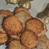 zdrowe ciastka bez jaj i mąki na serwatce