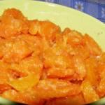 marchewka z masłem i pomarańczą...
