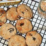Wegańskie ciastka a'la jeżyki