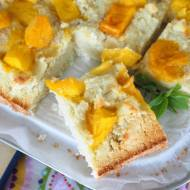 Kokosowe fit ciasto z mango