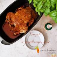 Kurczak w pomidorowym pesto