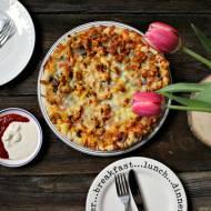 Pizza kebab gyros - przepis.