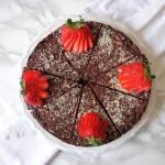 Ciasto czekoladowo-kokosowe (Torta di cioccolato e cocco)
