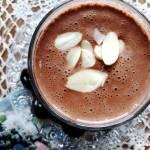 Koktajl (deser) bananowo-kakaowy