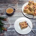 Rabarbarowe love – najprostsze ciasto z rabarbarem