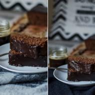 Czekoladowe ciasto z kaszą manną