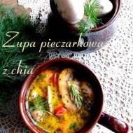 Zupa pieczarkowa z chia